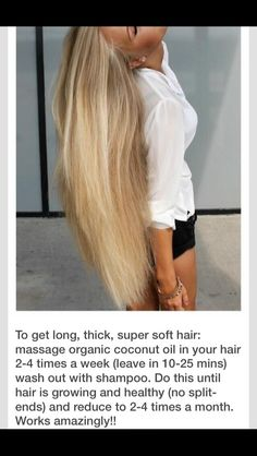 How To Get Longer Hair  #Beauty #Trusper #Tip