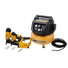 Bostitch 0.8-HP 6-Gallon 150-PSI Electric Air Compressor - Lowes sometimes has great deals on this