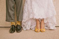 Yellow and Grey DIY wedding