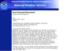 """National Weather Service forecasters in Alaska get over on their federal overlords, say """"PLEASE PAY US"""""""