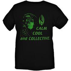 Star Trek Borg Calm Cool Collective T-Shirt | Hot Topic ($21)