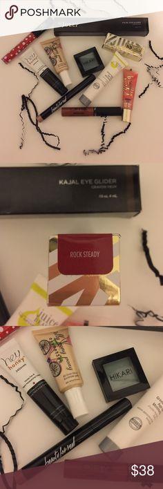 Makeup HAuL Brand new EVERYTHING!! Eyeshadow lipgloss liquid lipstick... Limited edition Gwen stefani lipstick..eyeliner ..face creme.. Liquid highlighter Makeup