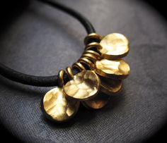 7 Gold Vermeil over Solid Sterling Silver Flutters  by lilysoffering, $17.50