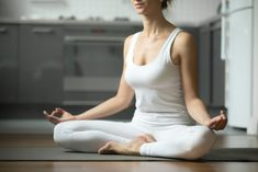 After this, you'll become hooked on meditation! The post Coping with Home Isolation: A Meditation Guide for Absolute Beginners appeared first on Skinny Ms. Basic Workout, Skinny Ms, Beginner Yoga, Yoga Tank Tops, Yoga Poses For Beginners, Yoga Tips, Yoga Benefits, Yoga Everyday, Yoga Challenge
