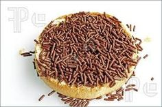 """""""Beschuitje Hagelslag"""" - Chocolate sprinkles on a toast-like biscuit, usually with butter spread first on the toast. Yummy for breakfast or lunch."""