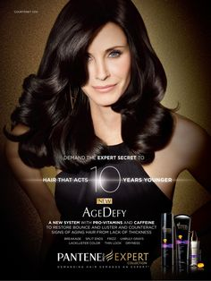 Beauty / glamour advertising // Pantene hair products