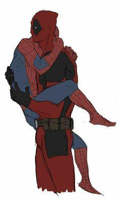 Marvel Funny, Marvel Memes, Marvel Dc Comics, Marvel Avengers, All Spiderman, Deadpool X Spiderman, Harley, Cute Gay, Animes Wallpapers
