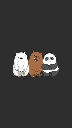 We Bear Bears wallpapers iPhone 23 high-definition ♪-We Bare Bears . Cute Panda Wallpaper, Disney Phone Wallpaper, Cartoon Wallpaper Iphone, Bear Wallpaper, Kawaii Wallpaper, Cute Wallpaper Backgrounds, Galaxy Wallpaper, Wallpaper Quotes, Walpaper Iphone