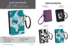 Every-Day Wristlet Thirty one  Book your Fall party with me!  Brooklyn Foster - Consultant bdfost@gmail.com (785) 737-6328 www.mythirtyone.com/Turkville31