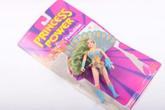 She Ra Princess Power Doll Peekablue Vintage 1980s 80s Toy Action Figure  The Pink Room  161110A by ThePinkRoom