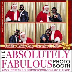 The #absoluteyfabulousphotobooth is at the #EastEndYachtClub in #Bridgeport CT on December 11th for the #BridgeportFacilities 2015 Holiday party.  Call (203) 912-5230 for #PhotoBooth availability for your #CorporateEvent #HeadShots #Birthday #Sweet16 #Wedding #BarMitzvah #BatMitzvah #Fundraiser and all occasions in #NY #NJ #CT. @gigmasters #Gigpics #PicPicSocial #PicPlayPost #eventplanner #weddingplanner #entrepreneur #business #periscope #christmas #holiday