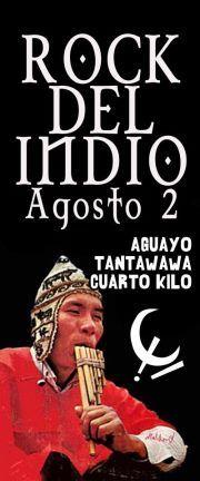Rock de lIndio con Aguayo Tantawawa Cuarto Kilo y Corvus en el EQUI