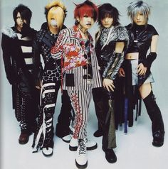 the GazettE formed in 2002. The drummer, Yune, left the band in 2003 and was replaced by Kai. They have had the same lineup ever since. They have a world-wide fan base and have recently celebrated their 13th anniversary.