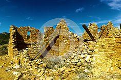 The Kinishba ruins in Arizona.