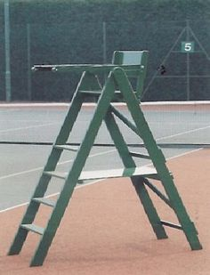 tennis umpire chair hire butcher block table and chairs 22 best video images butterfly umpires from 420 05 equipment for sale wakefield desk