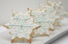 snowflakes cookies