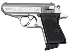 007 Gun Walther PPK 9mm - The perfect gun for a woman's hand.