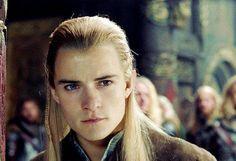| Orlando Bloom as Legolas from LOTR |