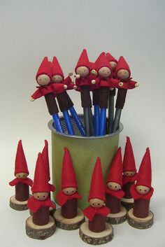 Mascot Custom Order by The Pine Cone Gnome, via Flickr