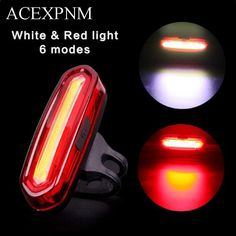 front head dual /& rear tail laser bike lights white red LED set kit for MTB BMX