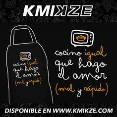 #kmikze #delantal #delantales #cocina #diseño #personalizacion