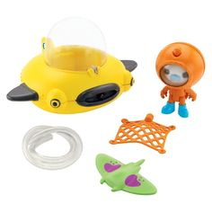 Fisher-Price� Octonauts GUP-D and Barnacles Vehicle Playset