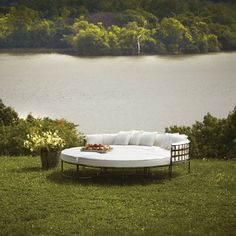 Sign us up for a backyard nap in this modular creation from Amalfi Living.