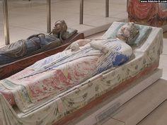 Gisant du roi Richard à L'Abbaye de Fontevraud