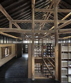 Librairie Avant-Garde - Biblioteca Ruralation  / AZL Architects