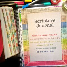 Bible Journal by FarmGirlJournals on Etsy