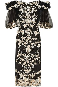 Best Holiday Cocktail Dresses - Marchesa.