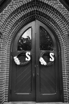 12 Best Wedding Church Decor images | Wedding, Diy wreath