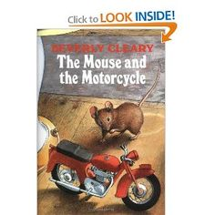 Amazon.com: The Mouse and the Motorcycle (9780688216986): Beverly Cleary, Tracy Dockray: Books