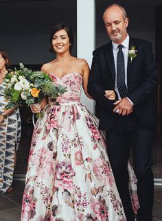 Looking for something a little different for your wedding? How about a non traditional wedding dress? See our favorite non-white wedding gowns!