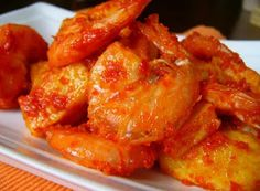 Denny Chef Blog: Gamberi e patate all'indonesiana