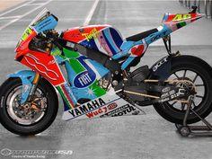 Yamaha YZR-M1 Assen 2007