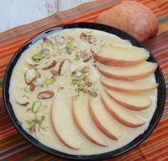 Made by thickening the full cream milk and apple giving it a nice crunch, 'Apple Rabdi' is worth giving a try! #Recipe: http://www.mapsofindia.com/my-india/food/apple-rabdi