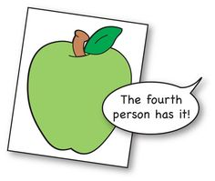 Keep math time active with this apple-themed ordinal number activity. Cards are provided. A freebie from TheMailbox!