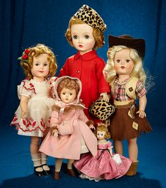 January 24, 2018. 1950s American Dolls Auction at theriaults.proxibid.com (onsite, absentee, telephone & internet bids) Location: Theriault's headquarters in Annapolis, Maryland.