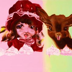 Mansikkapommi / Strawberry Bomb, 90 cm x 120 cm, Katja Tukiainen 2009 Contemporary Art, Disney Characters, Fictional Characters, My Arts, Candy Art, Eye Candy, Disney Princess, Anime, Pictures