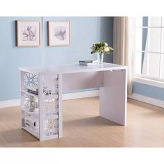 House of Hampton Tavion Wooden Desk | Wayfair