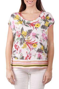 Deha colorful stylish t-shirt Blouse, Tops, Women, Fashion, Moda, Fashion Styles, Blouses, Fashion Illustrations, Woman Shirt