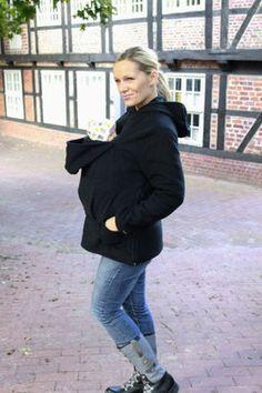 BABYWEARING FLEECE HOODIE GREAT FOR AUTUMN WARM COSY BREASTFEEDING | eBay
