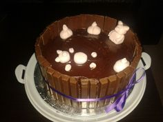 Pigs in Mud Birthday Cake!