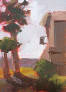 Heat Wave, 7x5, oil on panel, original oil painting by Mandy Main