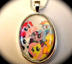 My Little Pony  Friendship is Magic Necklace by CoffinRockShop, $10.00