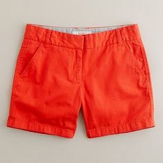 J. Crew Shorts! Best shorts ever!