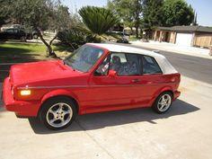 1991 VW Cabriolet convertable