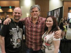 Me, Karen and Jeff Kober (Joe) from the Walking Dead. Also from Sons of Anarchy!