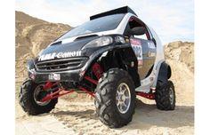Spanish Dakar Team Built a Smart ForTwo Buggy